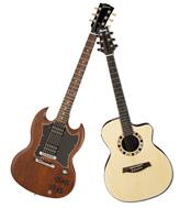 Odcizené kytary - obr